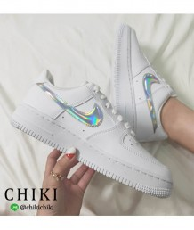 Nike Air Force 白鐳射